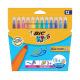 Feutres de coloriage BIC KIDS KID COULEUR XL - étui de 12