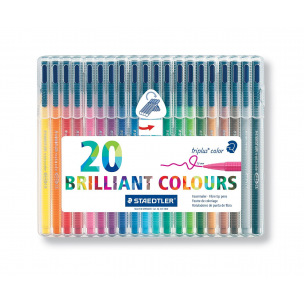 Feutres de coloriage triangulaires Staedtler TRIPLUS COLOR