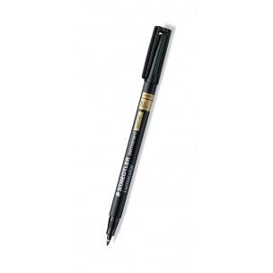 Feutre permanent Staedtler LUMOCOLOR SPECIAL - pointe fine - noir