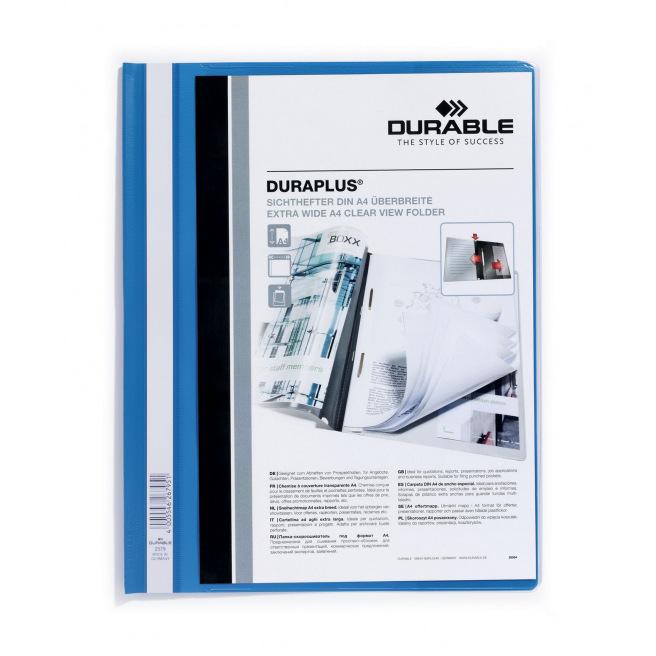 Farde à devis Durable DURAPLUS personnalisable A4