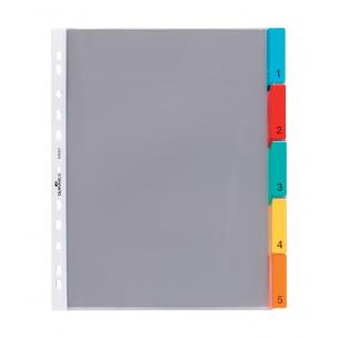 Intercalaires à pochettes Durable A4 maxi