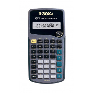 Calculatrice scientifique TEXAS INSTRUMENTS TI-30Xa