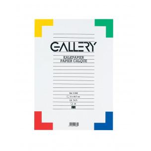 Papier calque 70 g GALLERY A4 - bloc de 20 feuilles