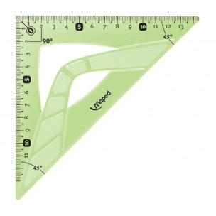 Equerre 45° en plastique Maped FLEX incassable - 21 cm