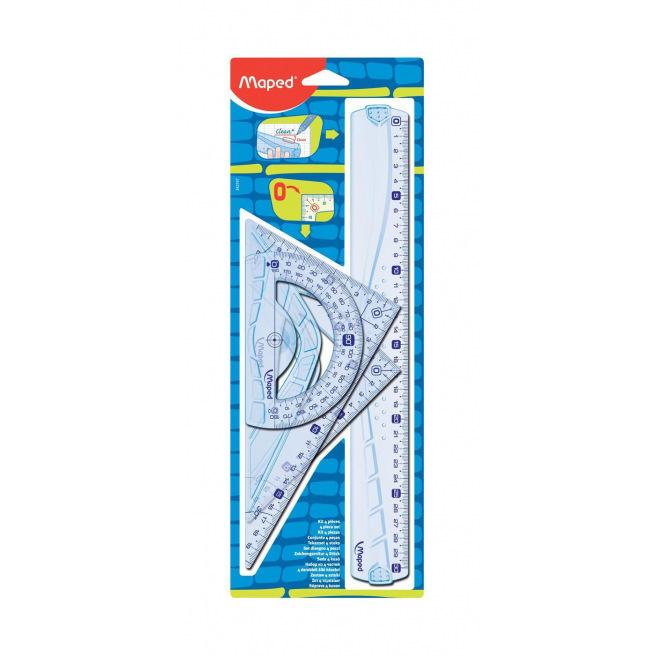 Kit de dessin Maped GEOMETRIC pour droitiers
