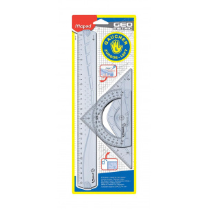Kit de dessin Maped GEOMETRIC pour gauchers