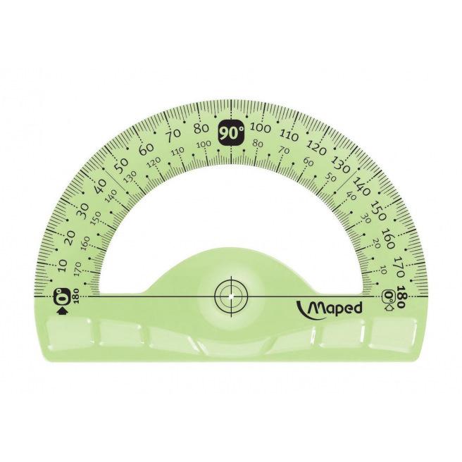 Rapporteur en plastique Maped FLEX incassable 180°