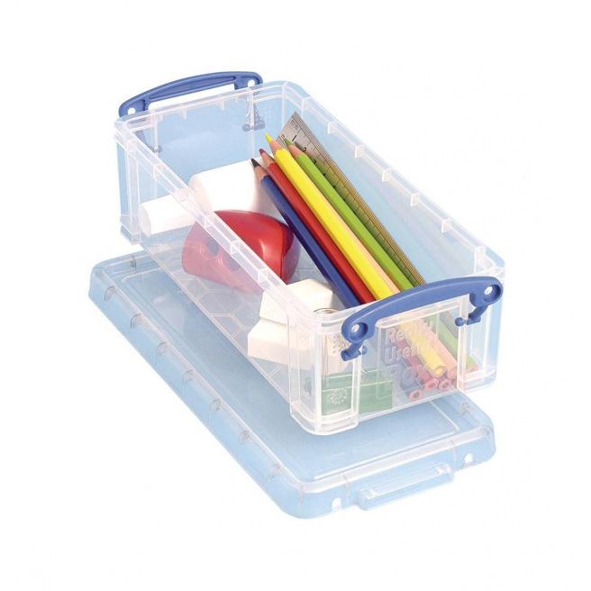 Boîte de rangement REALLY USEFUL BOX - 0,9 L