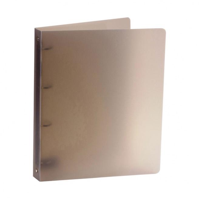 Classeur à 4 anneaux en plastique souple épais - A4 - dos 3,5 cm 2e2b35cab41b