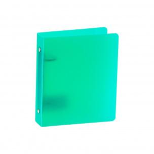 Classeur à 2 anneaux en plastique petit format - dos 3,5 cm