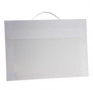 Valisette en plastique - A3 - dos 2,5 cm