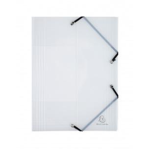 Farde à rabats et élastiques Exacompta CRYSTAL en plastique - A4