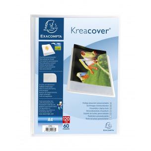 Farde de présentation à pochettes Exacompta CHROMALINE KREACOVER personnalisable A4