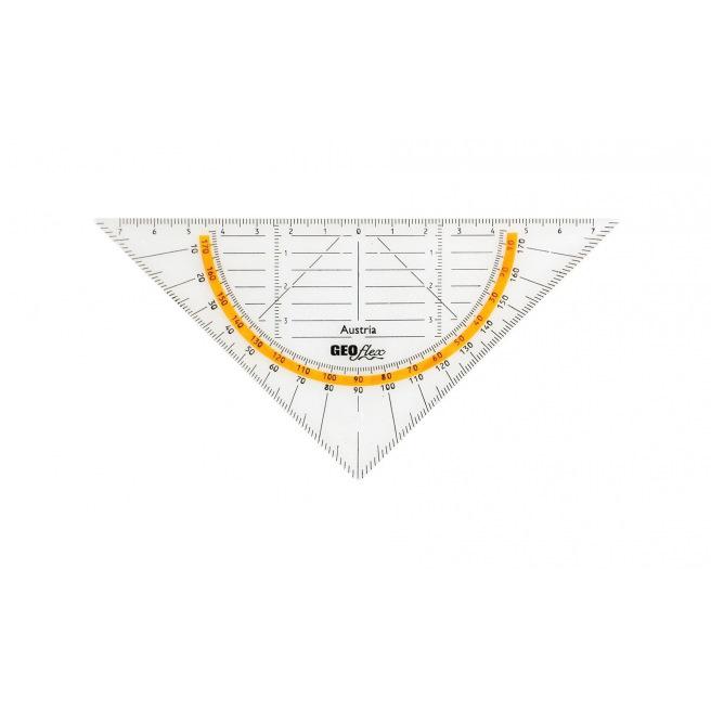 Equerre géométrique GEOFLEX - 16 cm