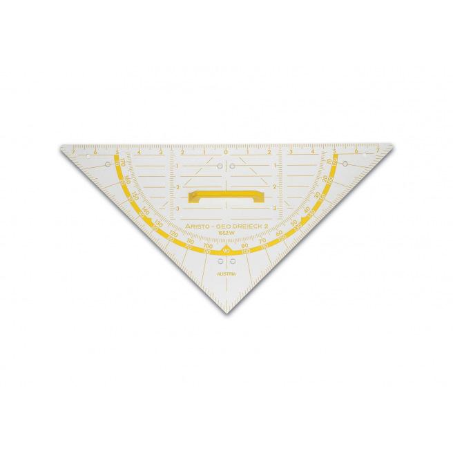 Equerre géométrique ARISTO 1552W POUR TABLEAU - 80 cm