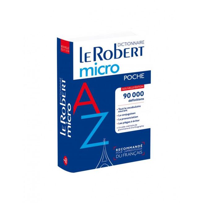 Dictionnaire de poche LE ROBERT MICRO