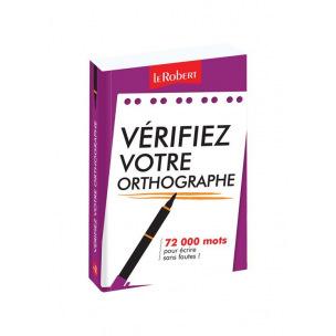 Vérificateur orthographique de poche LE ROBERT