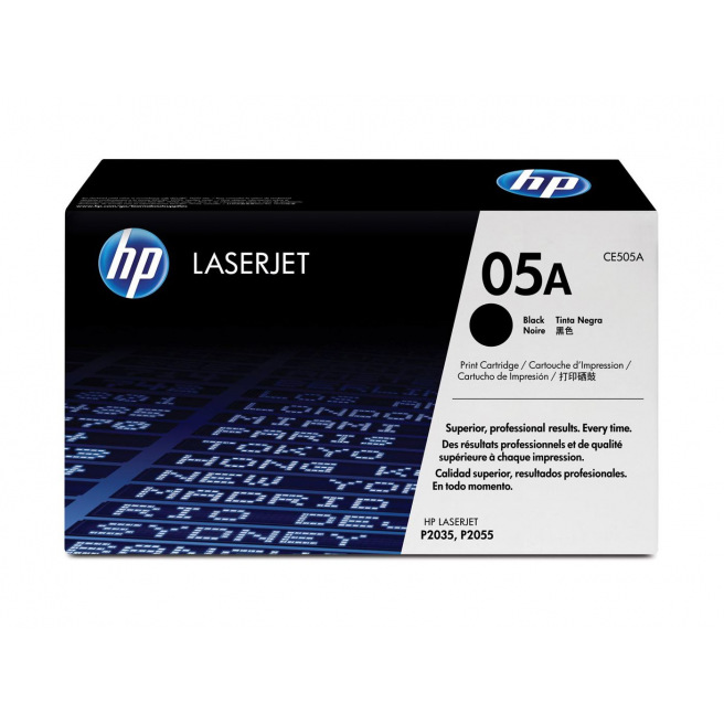 Cartouche laser HP N°05