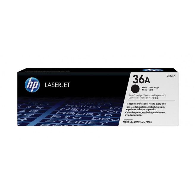 Cartouche laser HP N°36A - CB436A - noir
