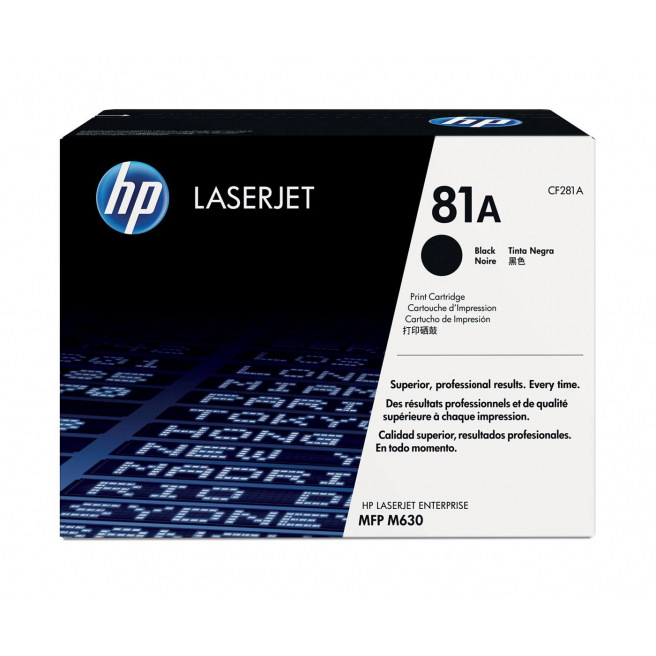 Cartouche laser HP N°81