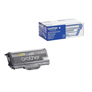 Cartouche laser BROTHER TN-2110 - noir