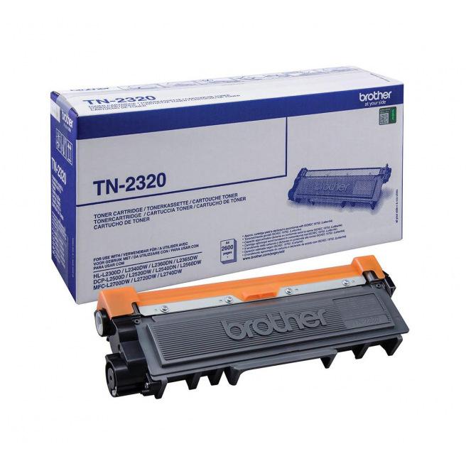 Cartouche laser BROTHER TN-2320 - noir
