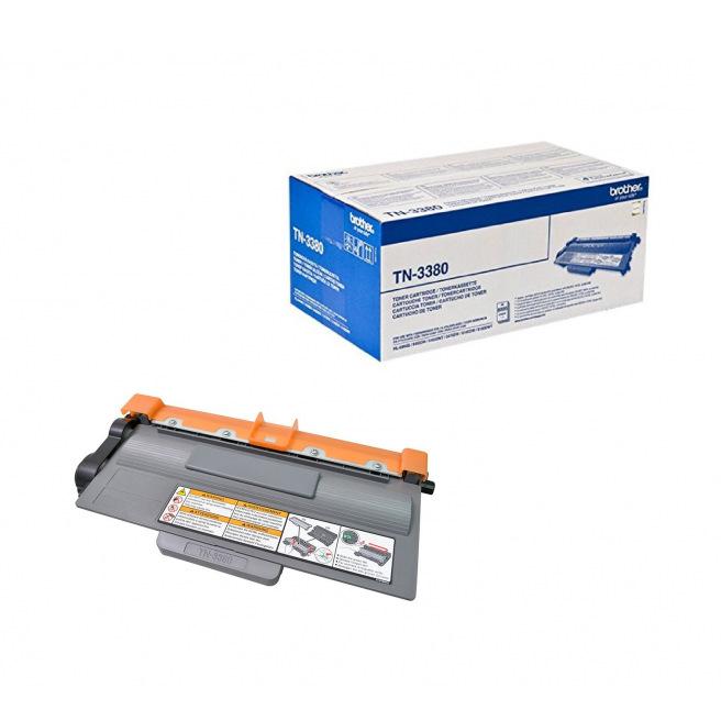 Cartouche laser BROTHER TN-3380 - noir