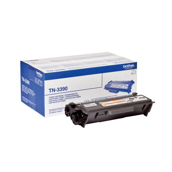 Cartouche laser BROTHER TN-3390 - noir