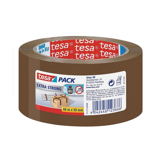 Ruban adhésif d'emballage TESA PACK EXTRA STRONG - 50 mm x 66 m