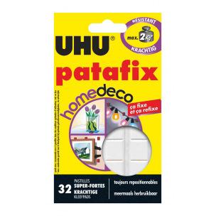 Pastilles UHU PATAFIX HOME DECO - étui de 32