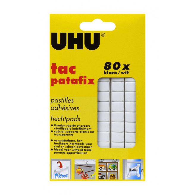 Pastilles UHU TAC PATAFIX - étui de 80