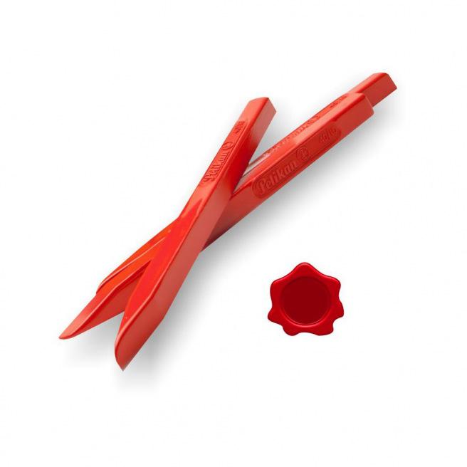 Bâton de cire à cacheter Pelikan rouge