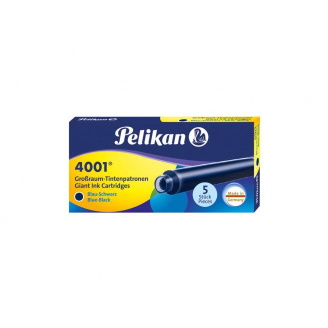 Cartouches d'encre Pelikan 4001 GTP/5 - étui de 5