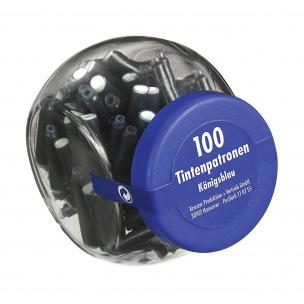 Pot économique de 100 cartouches d'encre Pelikan 4001 TP/6 - bleu effaçable