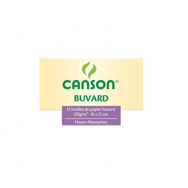 Papier buvard blanc CANSON