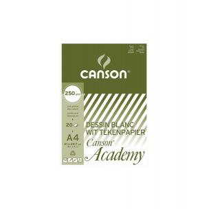 Bloc de papier dessin CANSON ACADEMY 250 g