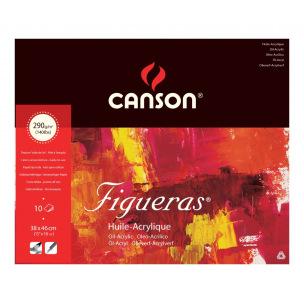 Bloc de papier huile/acrylique CANSON FIGUERAS 290 g