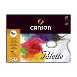 Palette pelable en papier CANSON - 24 x 32 cm