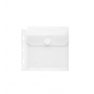 Pochette enveloppe perforée FOLDERSYS - fermeture velcro