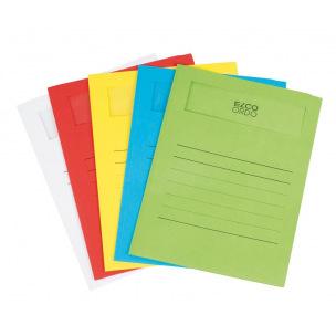 Chemise à fenêtre Elco ORDO VOLUMINO - paquet de 10 - assortiment de couleurs