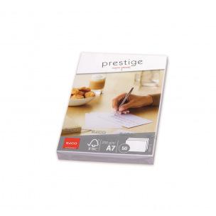 Cartes blanches Elco PRESTIGE A7 - 200 g - paquet de 50