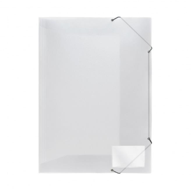 Farde à rabats et élastiques FolderSys en plastique - A3