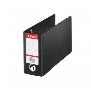 Classeur à levier pour extraits de compte Esselte - 22,5 x 16 cm - dos 8 cm - noir