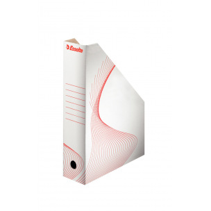 Porte-revues en carton Esselte BOXY - dos 8 cm