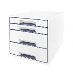 Bloc de classement Leitz WOW - 4 tiroirs