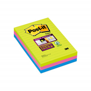 Bloc de notes Post-it SUPER STICKY