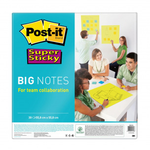 Bloc de notes Post-it SUPER STICKY BIG NOTES