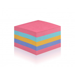Cube de notes Post-it SUPER STICKY - 76 x 76 mm - Rainbow