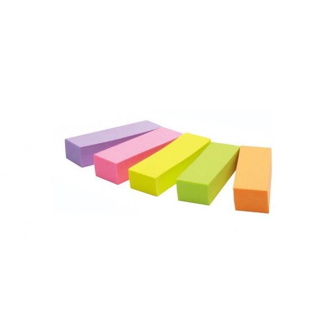 Index Post-it en PAPIER - 15mm - étui de 500 - mix de couleurs