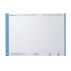 Planche d'étiquettes pour dossiers suspendus Elba N°0 - pour tiroir